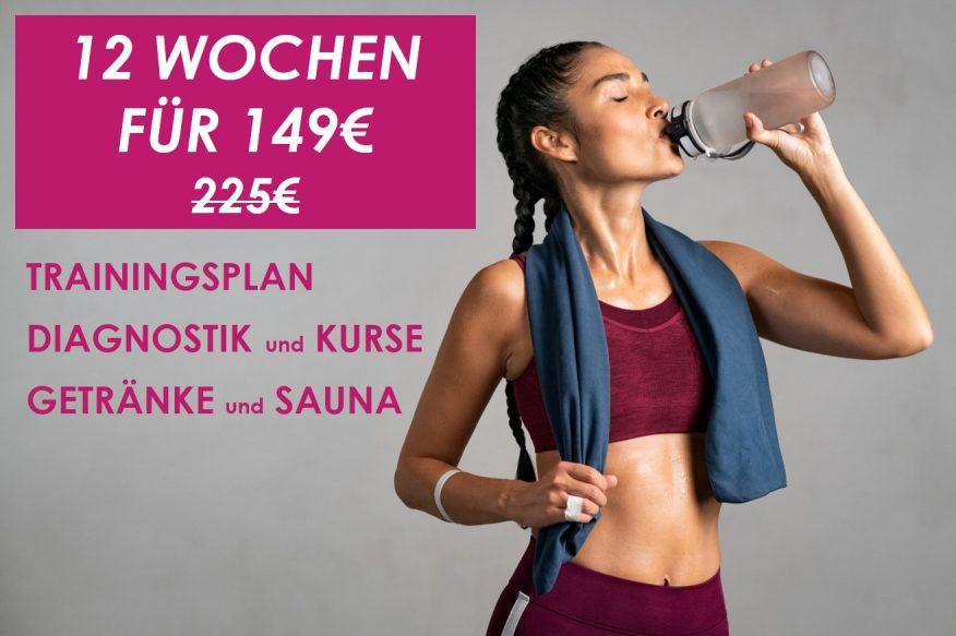 Angebot Herbst Fitness und Sauna